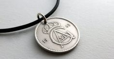 Swedish necklace Coins Coin jewelry Coin necklace by CoinStories