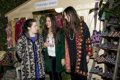 Tatiana Santo Domingo: fotos en Madrid en su tienda efímera Muzungu Sisters