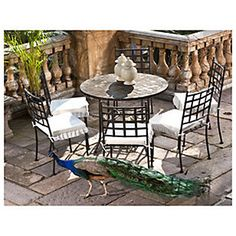 Comedor metal 5 piezas-Sodimac.com Outdoor Furniture Sets, Outdoor Decor, Outdoors, Home Decor, Outdoor Furniture, Decks, Dining Room, Cuisine, Home