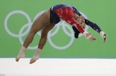 Team USA gymnasts make their first appearance in Rio