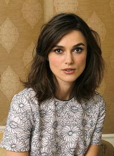 Keira Knightley looking pretty