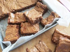 I love chocolate brownies but could never make them just right...this recipe is just right! Crunchy on the outside and soft in the middle.