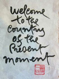 Thich Nhat Hanh calligraphy ..*