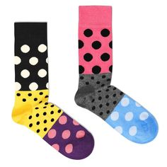 split dots socks ++ happy socks . poketo