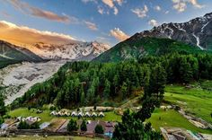 Northern areas of Pakistan...