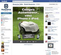 Husqvarna Social Media Marketing by Mibu Lab , via Behance