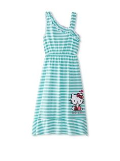 50% OFF Hello Kitty Girl's One Shoulder Dress