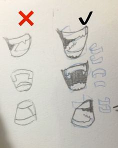 "119.6k Likes, 768 Comments - Gabriel Picolo (@_picolo) on Instagram: ""Did a quick tutorial on how to draw convincing teeth! ✨ Here are some tips: 1. Remember that…"""
