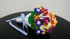 Bouquet Cute Wedding Ideas, Wedding Stuff, Wedding Flowers, Dream Wedding, Lego App, Lego Flower, Lego Tree, Lego Wedding, Pirate Cat