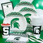 Michigan State party supplies give your Spartan fans something to cheer about. Shindigz stocks everything you need for an awesome Michigan State tailgate party. Michigan State University, Michigan State Spartans, Msu Spartans, Sports Party, 7th Birthday, Birthday Cake, Party Packs, Party Themes, Party Ideas