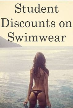 Discounts on bikinis for this summer