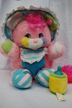 popples soft toy with baby bottle- I remember getting this for Christmas in 1988