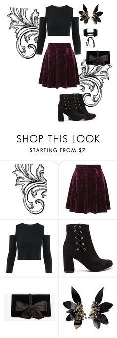 """""""Love this"""" by warriorcatluver ❤ liked on Polyvore featuring Topshop, Ann Taylor, Marni and Miss Selfridge"""