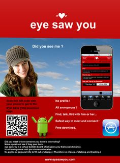 http://www.eyesawyou.com   With eyeSawyou, you can see if anyone wrote about you, then chat with them!