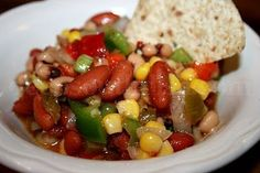 Deep South Dish: Texas Caviar Salsa - Mississippi Style