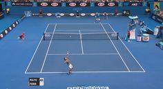 The 2014 Australian Open Leaves One Ball Boy With A Huge Headache