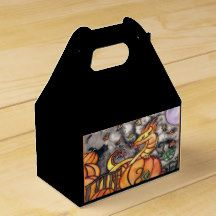 Check out Zazzle's variety of Black And White favor boxes! Browse all of our wonderful designs and get your favor bag today! Halloween Celebration, Halloween Party, Queen Annes Lace, Lace Weddings, Favor Boxes, Lace Design, Halloween Pumpkins, Party Supplies, Favors