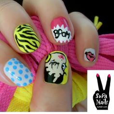 Hot Nail Designs for Summer #naildesigns #nailart  | See more nail designs at http://www.nailsss.com/acrylic-nails-ideas/2/