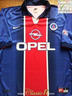 95e397f84 Germain s 1998 1999 season with this vintage Nike home football shirt
