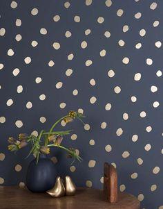 포인트 벽을 만들기 위한 벽지 인테리어, 벽면인테리어 : 네이버 블로그