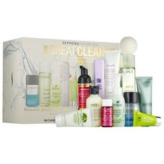 The Great Cleanse - Sephora Favorites |   This is TOTALLY worth it! $48 for an amazing set of lots of great skin products!