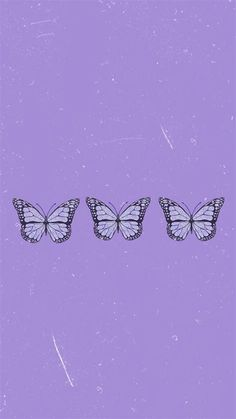Aesthetic Butterfly Purple Wallpapers - Wallpaper Cave