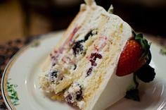 Photo of Sweet Lady Jane Bakery - Los Angeles, CA, United States. Triple Berry Cake