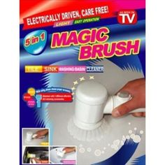 Cleaning Magic Brush - Clean the surface of ceramics, bathtub, wash basin. Oil Stains, Toilet Cleaning, See On Tv, Brush Cleaner, Clean House, Basin, Electric, Awesome Things, Pakistan