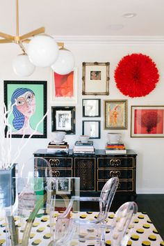 The amount of color and pattern throughout the home is impressive. - This Is The Most Colorful Home We've Ever Seen - Photos