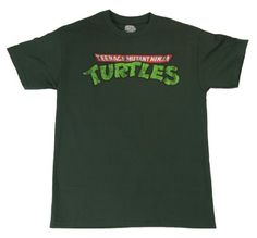 Mens Teenage Mutant Ninja Turtles TMNT Logo T-shirt #Mens #Teenage #Mutant #Ninja #Turtles #TMNT #Logo #T-shirt