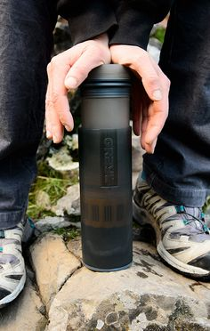 Purification and filtration in [ONE PRESS]. GRAYL makes safe, clean purified drinking water – anywhere in the world! Full-spectrum protection against pathogens (viruses, bacteria, protozoa), particulates, chemicals and heavy metals. Perfect for global travel, outdoor adventure and emergency preparedness.