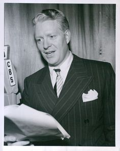Vintage Nelson Eddy CBS Radio OLD GOLD SHOW Publicity Photo. I believe Nelson Eddy was the most handsome man Ever!!! and the finest baritone to ever come out of this country.