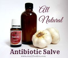 All Natural Antibiotic Salve