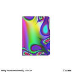 Ready Rainbow Fractal Passport Holder