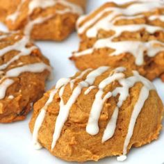 Pumpkin Cookies Pumpkin Cookie Recipe, Pumpkin Recipes, Easy Pumpkin Cookies, Pumpkin Chocolate Chip Cookies, Cinnamon Recipes, Cookie Desserts, No Bake Desserts, Delicious Desserts, Cookie Recipes