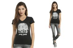 Hot Topic - women's Rogue One Death Star tee