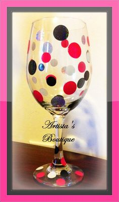 Custom wine glasses - Set of 4 order today and get 15% off your next purchase!!!