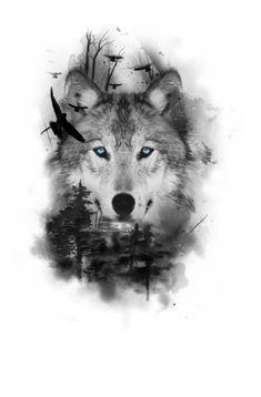 Wolf Sleeve, Wolf Tattoo Sleeve, Tattoo Sleeve Designs, Tattoo Designs Men, Arm Tattoo, Wolf Tattoos, Hand Tattoos, Rose Thorn Tattoo, Wolf Tattoo Shoulder