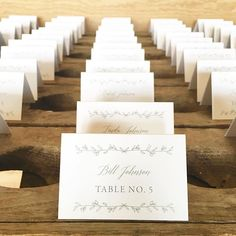 It's the tiny details we love. Escort cards for @ehwilber and Joe's  wedding @kingfamilyvineyards this past weekend. ellopaper.com   Escort Cards   Day of Wedding Stationery