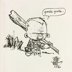 Earl Tubb / Southern Bastards by @skottieyoung