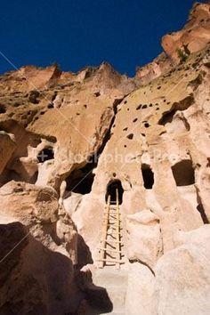 Bandelier cave dwellings