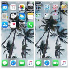 Whats On My Iphone, Iphone App Layout, Phone Organization, Homescreen, App Design, Screens, Fun Stuff, Wallpapers, Apple
