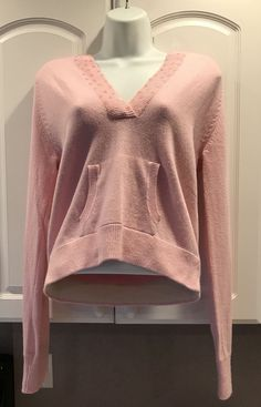 Say What Sweater Silk Nylon And Angora Sequin Pink Hoodie Super Cute For Girls  | eBay