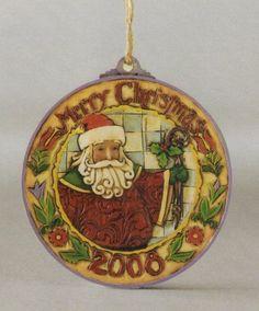 Image result for new jim shore hanging santas