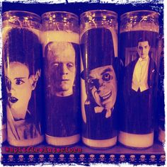 Horror Candles.. Available at Spitfire interiors, Whittier Ca 90601