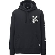MEN SPRZ NY SWEAT PULLOVER HOODIE,   Black, Medium