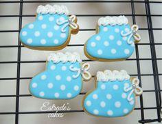 Estrade's cakes: galletas de patucos, decoradas con glasa