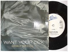 At £4.20  http://www.ebay.co.uk/itm/George-Michael-I-Want-Your-Sex-Epic-Records-7-Single-LUST-1-1987-/251151467979