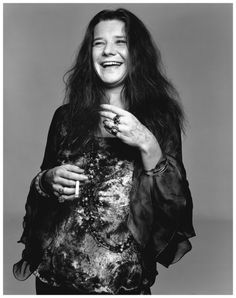 Richard Avedon :: Janis Joplin, Port Arthur, Texas, 28th August 1969
