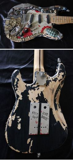 Fan of The Walking Dead and music? Meet the Zombie Apocalypse guitar!